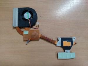DELL inspiron N5010 hőcső ventilátor 0NC4TX NC4TX használt 1 hó gar!