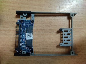 Dell E6540 E6430 E6220 M4800 M6800 HDD keret MSATA to SATA 2.5 SSD Converter LS-7788P használt 1 hó gar!