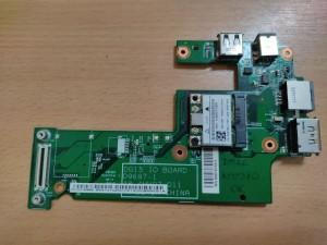 Dell Inspiron 15R N5010 M5010 gyári USB/LAN/ESATA/DC panel 09697-1 48.4HH02.011 használt 1 hó gar!