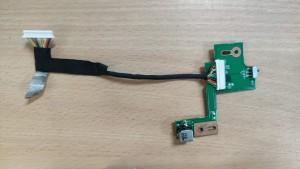 ASUS N53 DC IN Board 60-N1QDC1000-E02 . Használt termék