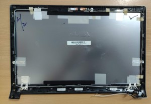 Asus N53J, N53S sorozatú használt LCD hátlap WiFi antennával, webkamerával 13GNZT1AM010-1. Használt termék