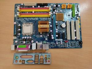 GIGABYTE GA-EP35-DS3L LGA775 Alaplap használt 1 hó gar!