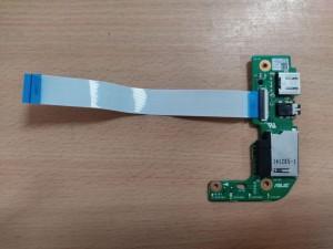 ASUS X554L X555L R556L Sorozathoz USB SDCARD IO BOARD 69N0R7B10B05-01 60NB0620-I01030 használt 1 hó gar!