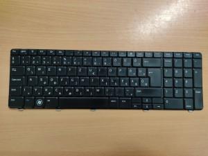 Dell Inspiron N7010 Inspiron 17R 7010 gyári dell magyar billentyűzet keyboard fekete színben 56V1R, 056V1R használt 1 hó gar!