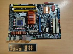 ASUS P5K/EPU Intel P35 ATX LGA775 Alaplap használt 1 hó gar!