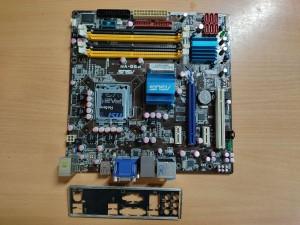 ASUS P5Q-VM Intel G45 ATX LGA775 Alaplap használt 1 hó gar!