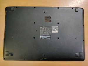 Acer Aspire ES1-512 ES1-531 Gateway NE512 NE513 alsó kaszni 460.03703.0032 használt 1 hó gar!
