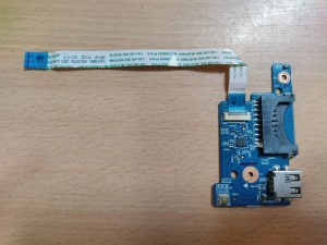 Acer ES1 Series ES1-512 ES1-531 ES1-571 448.03704.0011 bekapcsoló gomb USB panel használt 1 hónap garancia!