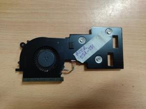Acer Aspire ES 15 ES1-531 sorozathoz hőcső + ventilátor 16011801A01-04595 DLT4600530C0001 használt 1 hó gar!
