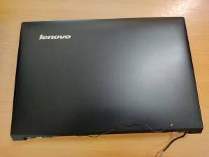 Lenovo B50 B50-30 B50-45 B50-70 B50-75 B50-80 sorozathoz LCD Fedlap + LCD első keret + zsanér AP14K000500H használt 1 hó gar!