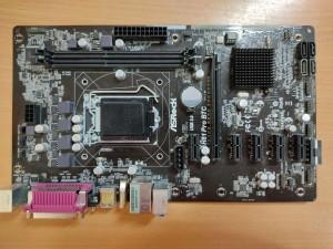 ASRock H81 Pro BTC R2.0 LGA1150 alaplap használt 1 hó gar!