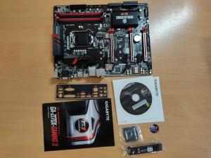Gigabyte GA-Z170X-Gaming 3-EU Rev 1.0 LGA1151 alaplap 6. - 7. generációs processzorhoz használt 3 hónap garancia!