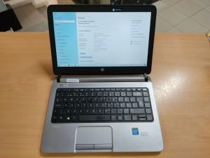 HP ProBook 430 G1 14,1 Celeron / 6 GB / 120GB SSD használt laptop 6 hó gar!