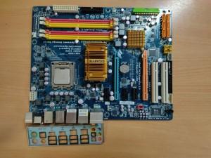 GIGABYTE GA-EP45-DS3 LGA775 Alaplap használt 1 hó gar!