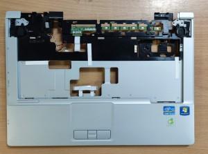 Fujitsu S781 palmrest+bekapcsoló panel+hangszórók. Használt termék.