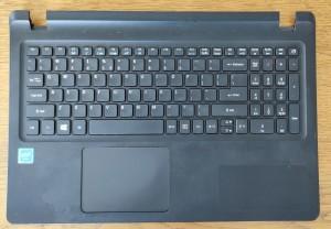 Acer ES1-523 ES1-533 billentyűzet+palmrest+touchpad! Használt termék