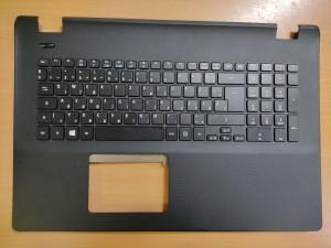 Acer Aspire ES1-731, ES1-731G 17.3 Fekete Palmrest magyar billentyűzettel gyári új 6B.MZTN7.013 1 év gar!
