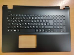 Acer Travel Mate TMP276-MG 17.3 Palmrest magyar billentyűzet gyári új 60.VA0N7.013 Fekete 1 év gar!