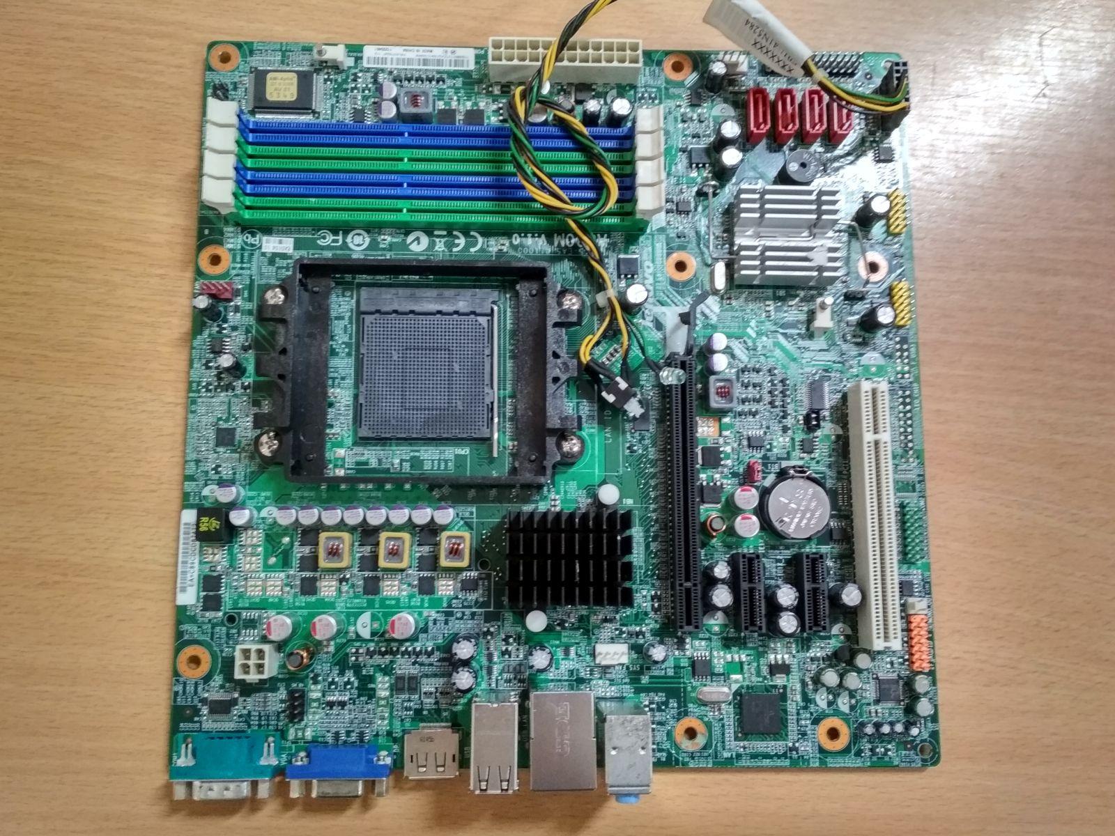 Lenovo M77 A880M v1.0 AM3 használt alaplap  3 hó gar!