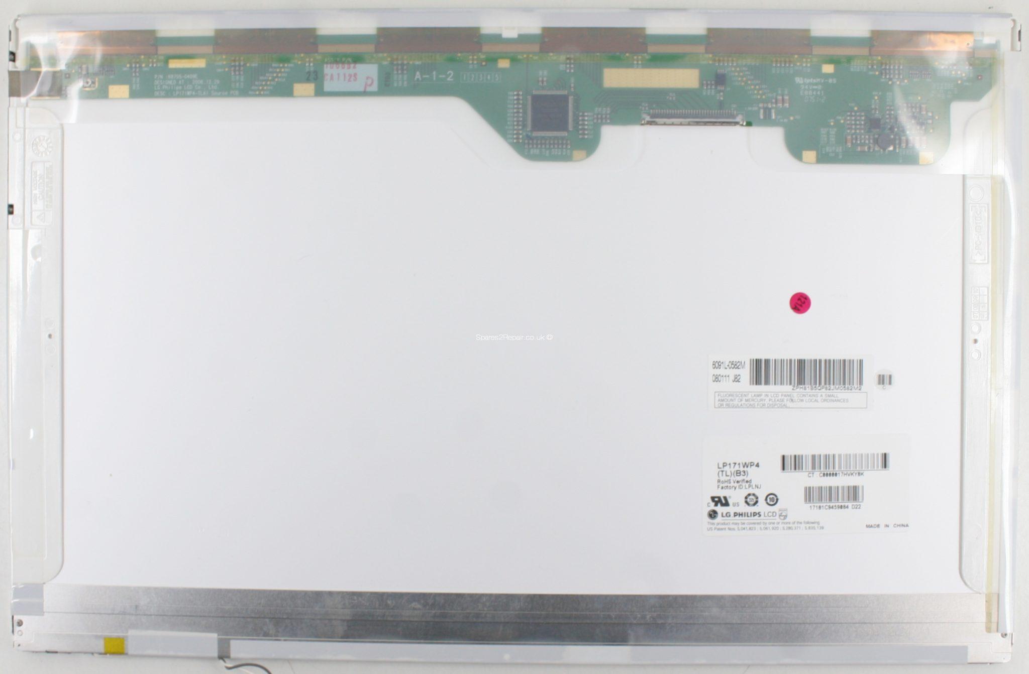 17 LG/PHILIPS LP171WP4 (TL)(B3) KOMPATIBILIS LCD KIJELZŐ 1 hó gar!