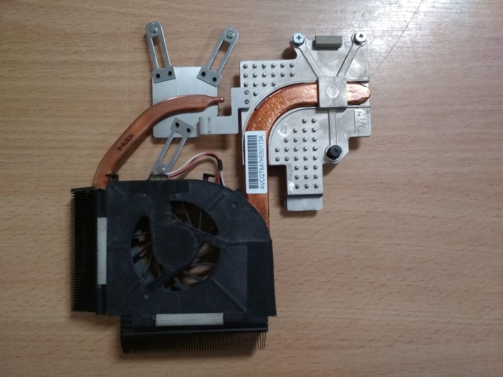 HP Pavilon DV5 sorozathoz ventilátor és hőcső 493001-001 DFS531205PC0T használt 1 hónap gar!