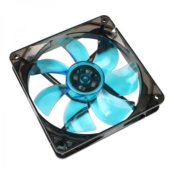 Cooltek Silent Fan 120 Blue LED 3pin 1 év gar!