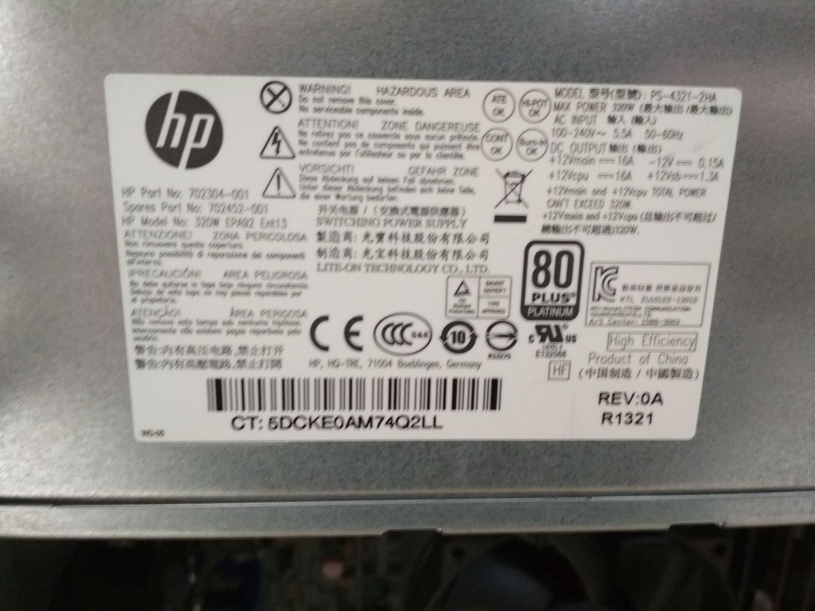 HP EliteDesk 800 G1 i5 4570 / 4 GB DDR3 / 500GB használt 6 hó gar!