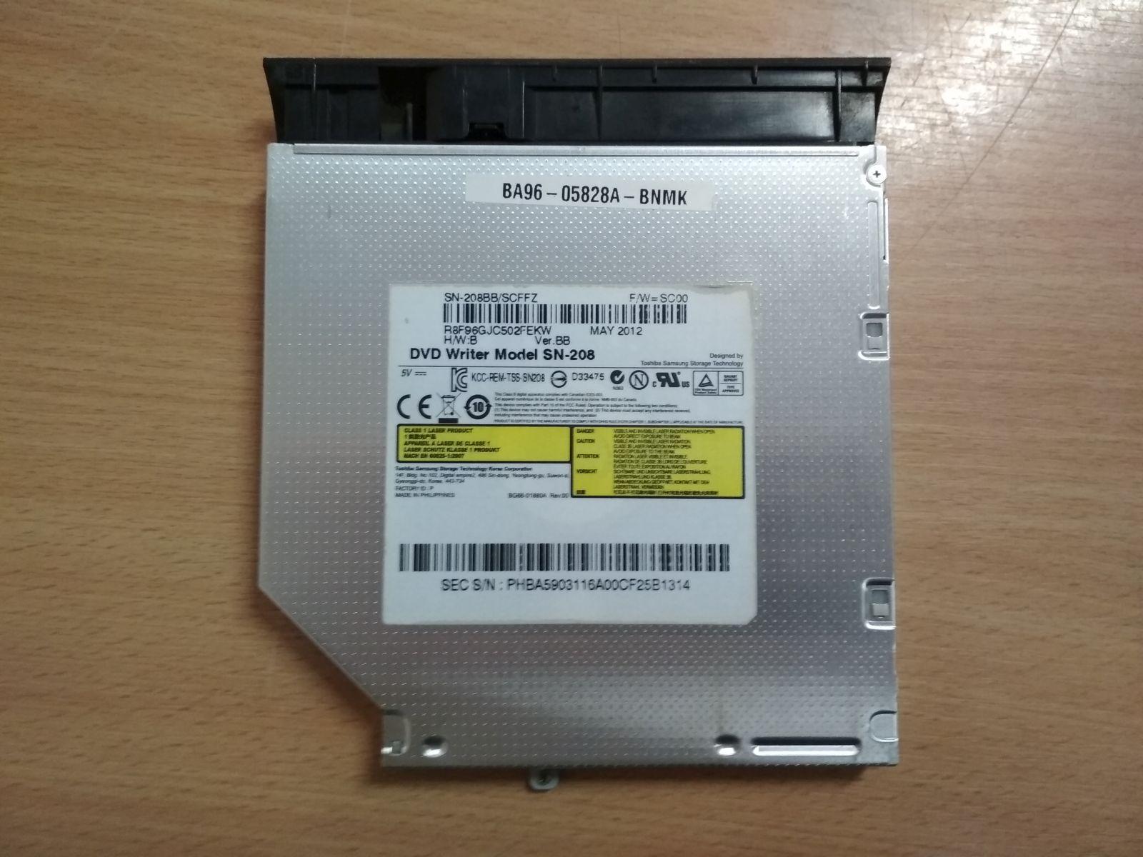 Samsung NP3530 NP300 Sorozathoz BA96-06398A DVD író ODD használt 1 hónap gar!