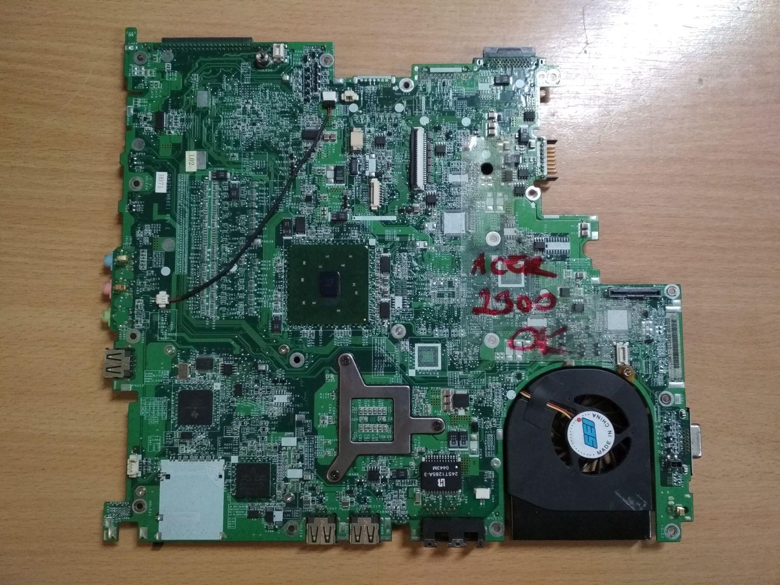 ACER TRAVELMATE 2300 4000 Series INTEL DA0ZL1MB6E1 Laptop Alaplap használt 1 hó gar!