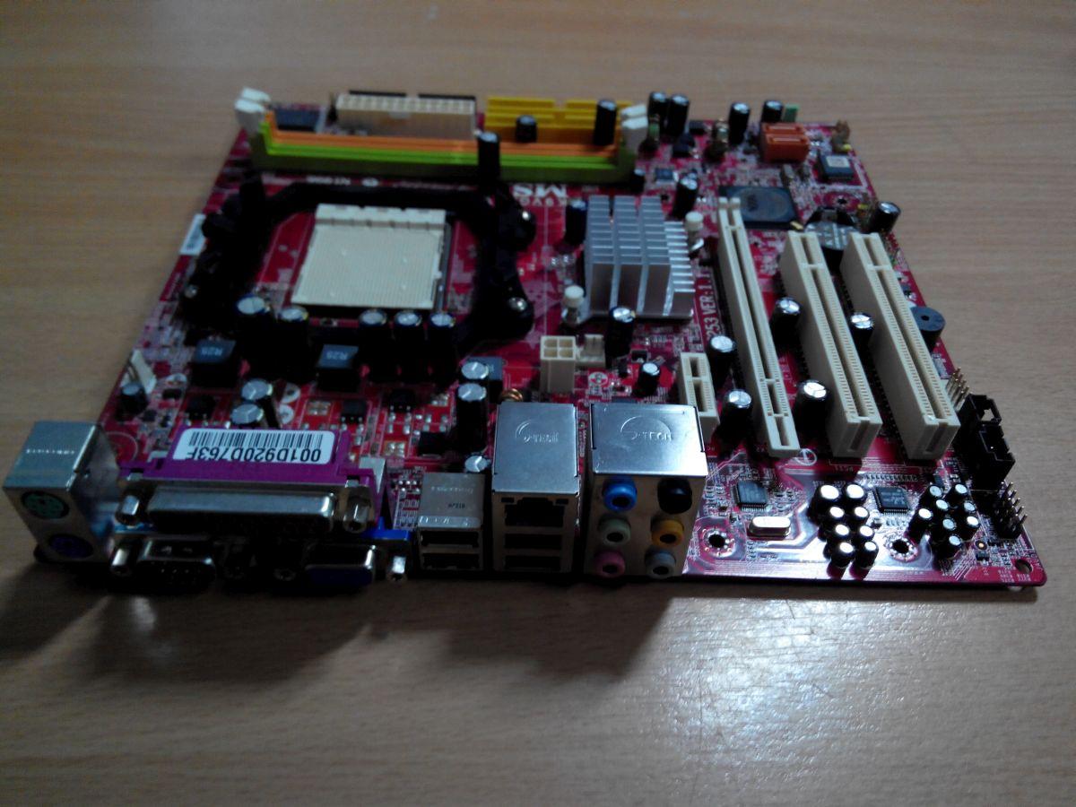 Msi MS-7253 K9VGM-V AM2 DDR2 használt 1 hó gar!