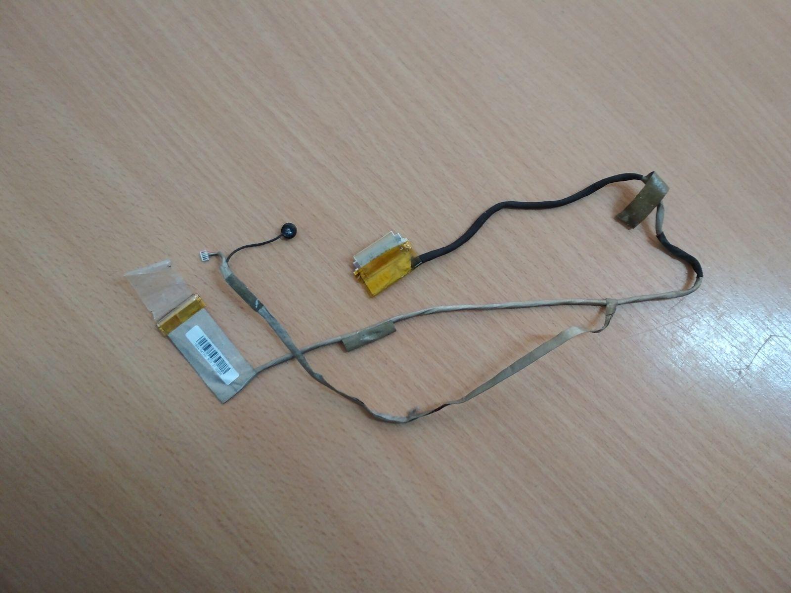 Asus K54C K54L X54H X54C K54D K54SL X54XI 14G221047000 LCD LVDS Kábel használt 1 hó gar!