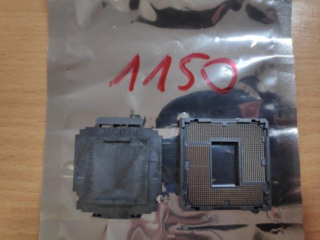Socket 1150 CPU foglalat.