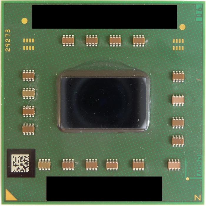 AMD Athlon 64 X2 QL-60, 1.9 GHz laptop processzor használt 3 hó gar!