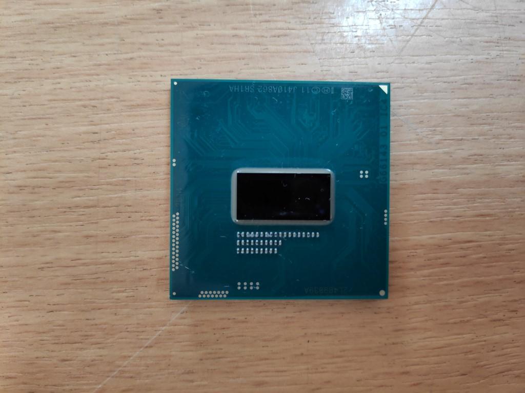 Intel Core i5 4200m, SR1HA 2.50GHz laptop processzor használt 3 hó gar!