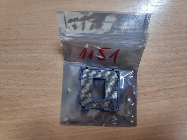 Socket 1151 CPU foglalat.