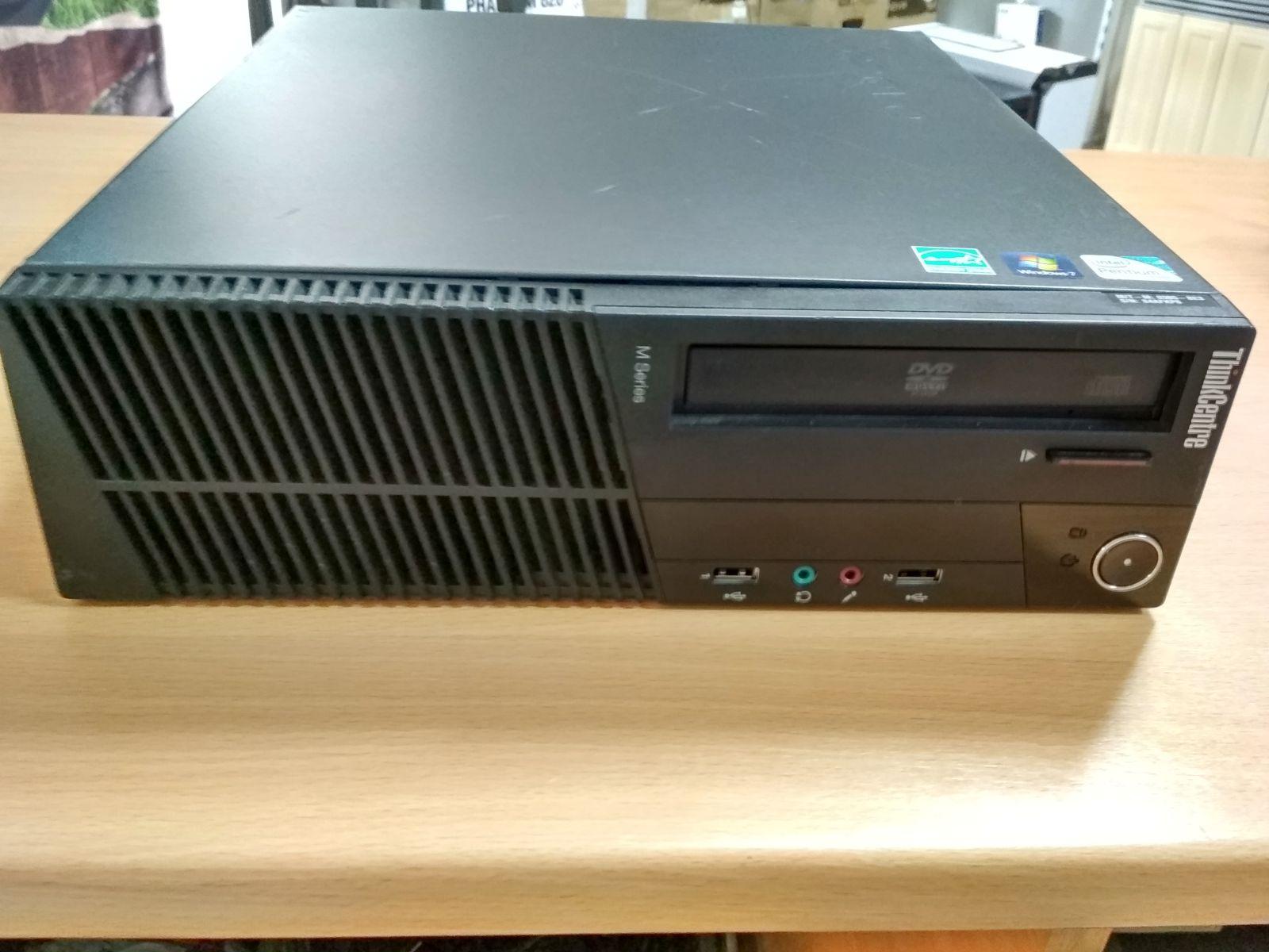 Lenovo ThinkCentre M81 SFF (0385) G620 / 4GB / 250 GB használt 3 hó gar!