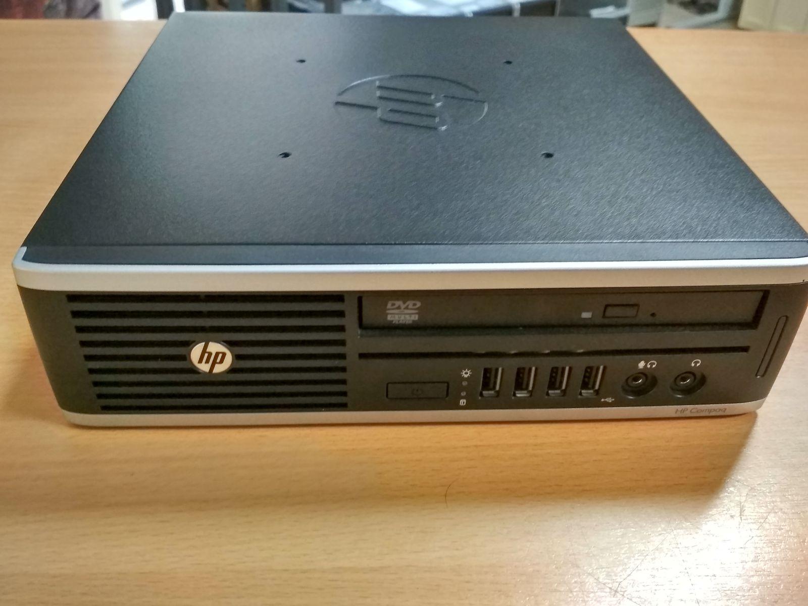 HP Compaq Elite 8300 USDT i5 3470S/4 GB DDR3/500 GB használt 3 hó gar!