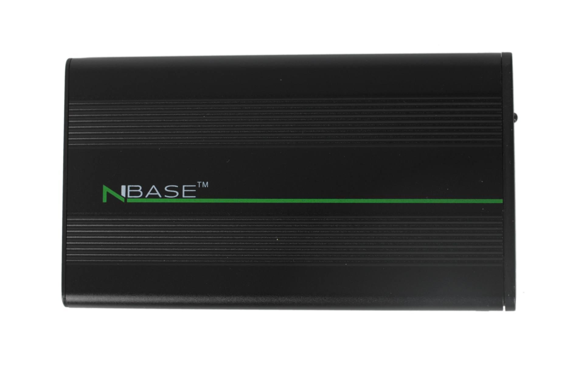 nBase N Drive EH25NDS2 2,5 USB2.0 mobil rack Black Külső, 2,5, USB, SATA 1 év gar!