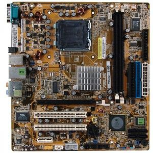 ASUS P5SD2-FM/S SiS 649DX LGA775 használt alaplap 1 hó gar!
