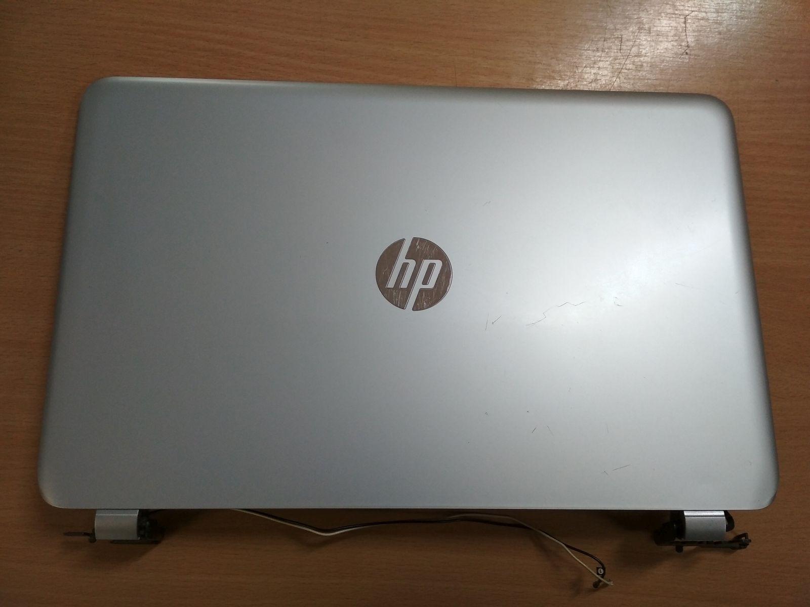 HP Pavilion 15-N komplett LCD fedlap ZYU39U65TPF EAU650030C0 használt 1 hó gar!