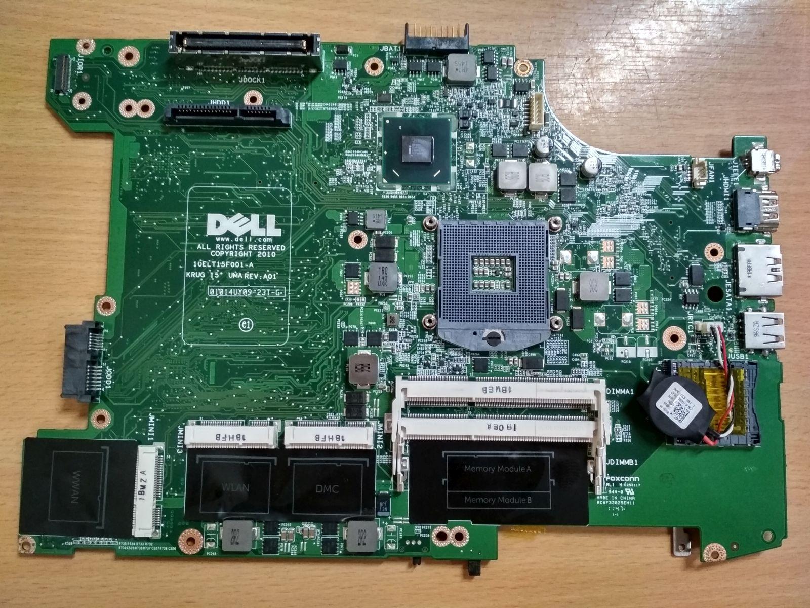 DELL Latitude E5520 0JD7TC 10ELT15F001-A 01014UY09-23T-G  Laptop Alaplap használt 1 hó gar!