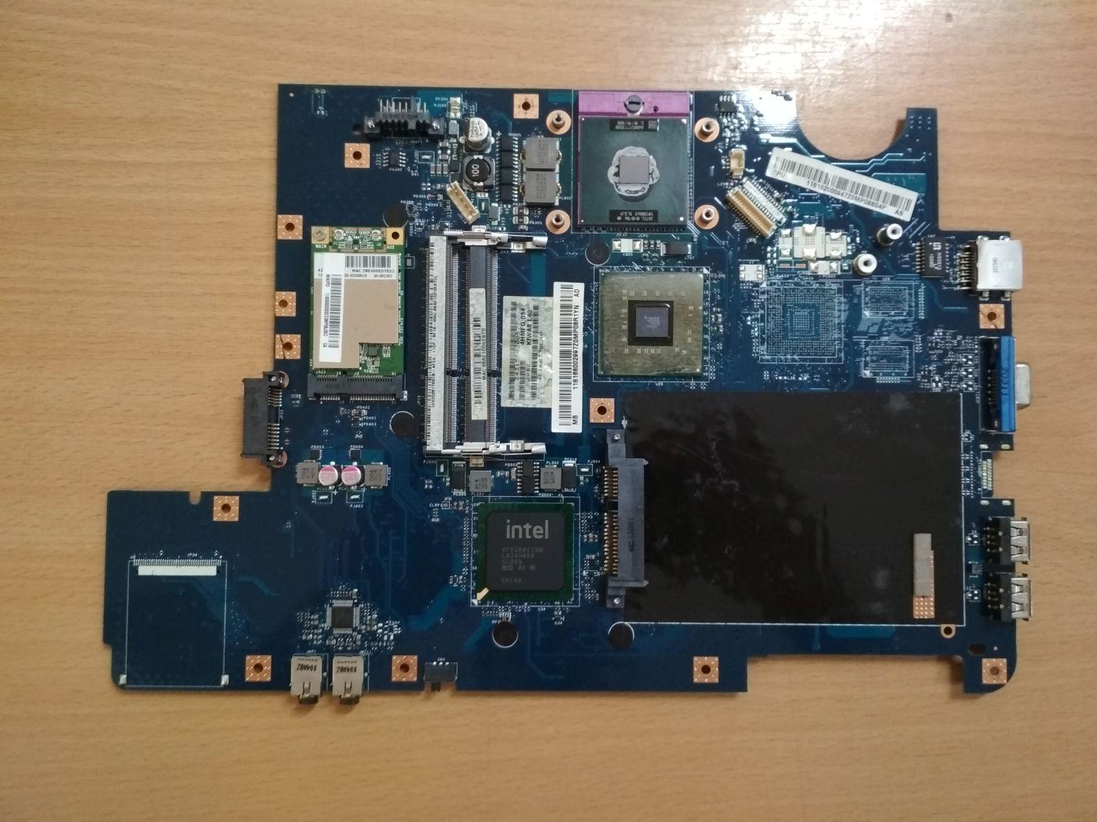 Lenovo Ideapad G550 GL40 LA-5082P KIWA7 rev 2.0 Laptop Alaplap használt 1 hó gar!