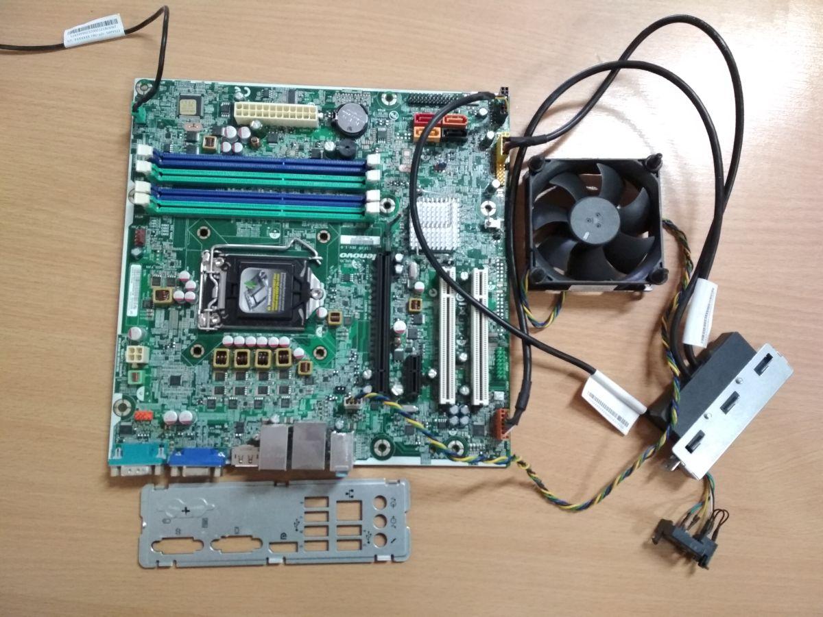 LENOVO IS6XM alaplap mATX LGA1155 használt alaplap 1 hó gar!
