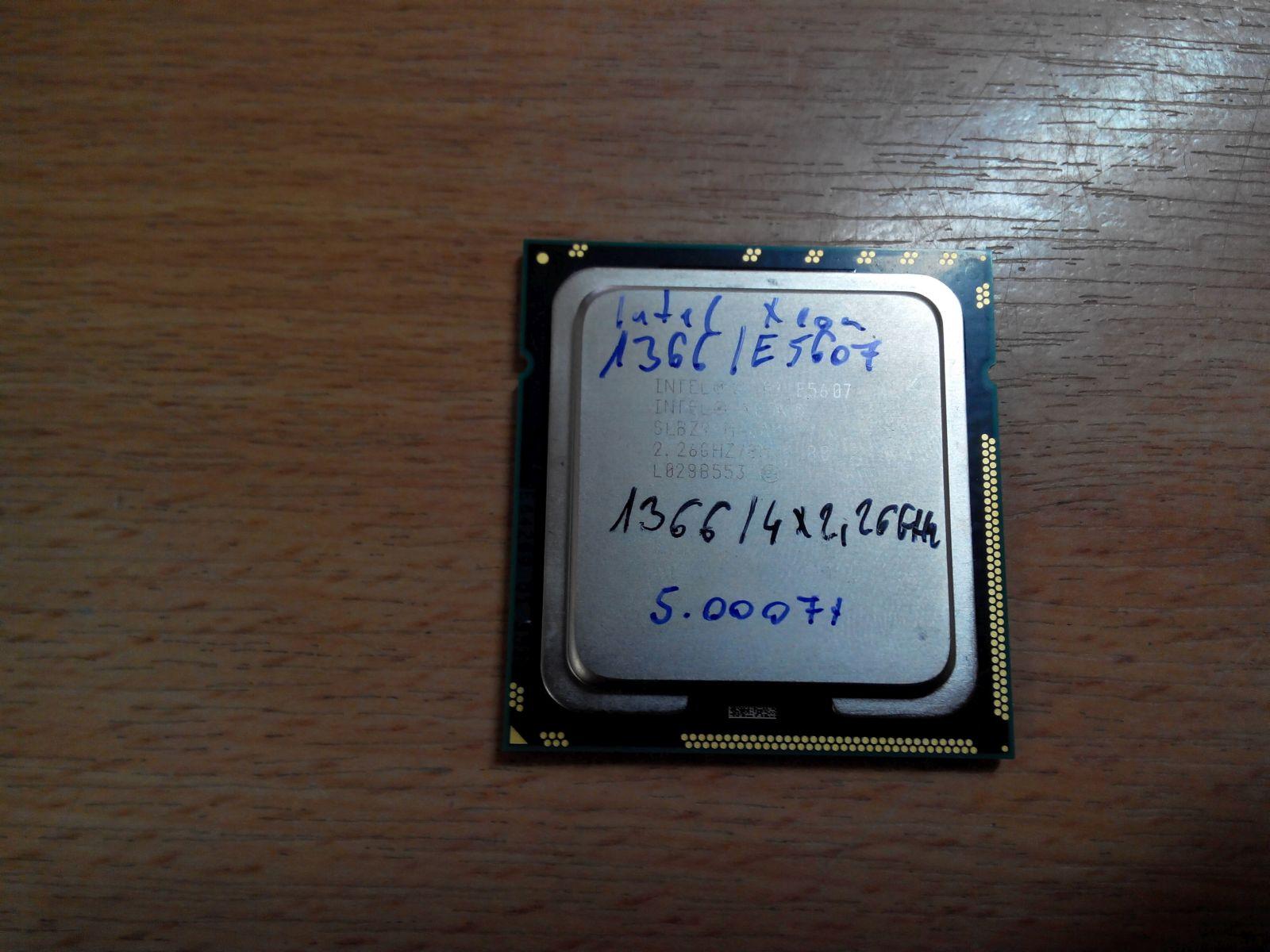 Intel Xeon Quad-Core E5607 2.26GHz LGA1366 Processzor használt 1 hó gar!