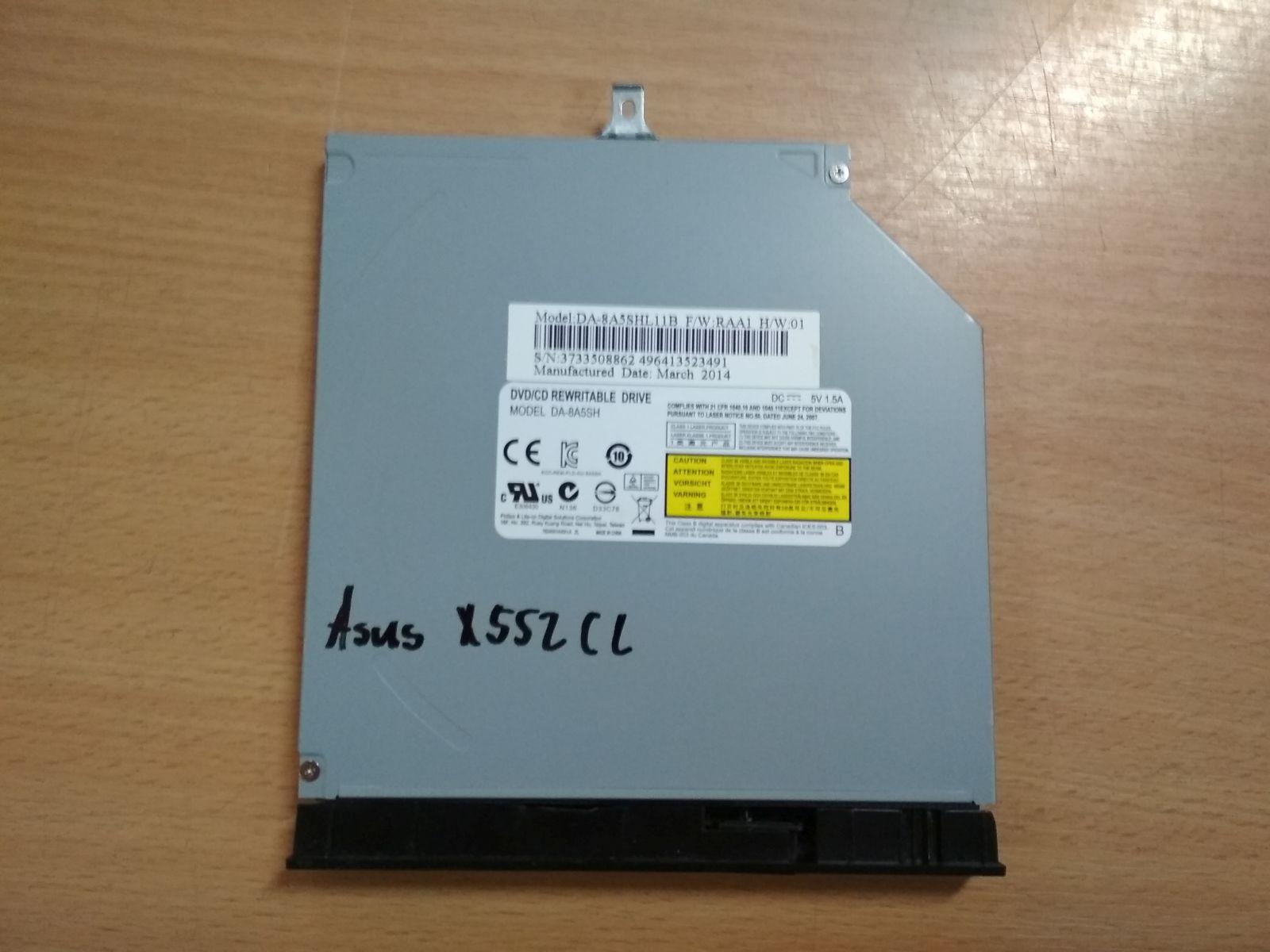 ASUS X552C X552CL DVD író DVD író ODD használt 1 hónap gar!