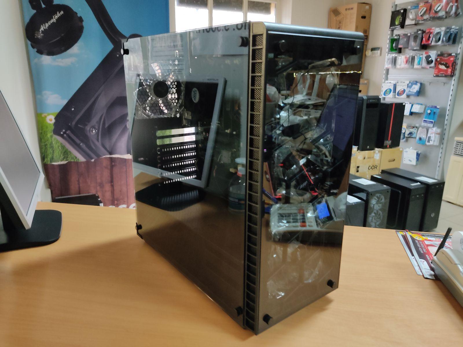Observatory Blue Intel i3 7100 / 8 GB / 256GB  SSD + 500GB HDD / Gigabyte 1050 2GB használt 3 hó gar!