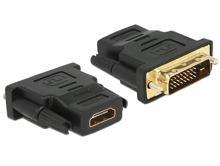 DVI-D 24+1 Pin Male to HDMI Female M-F Adapter