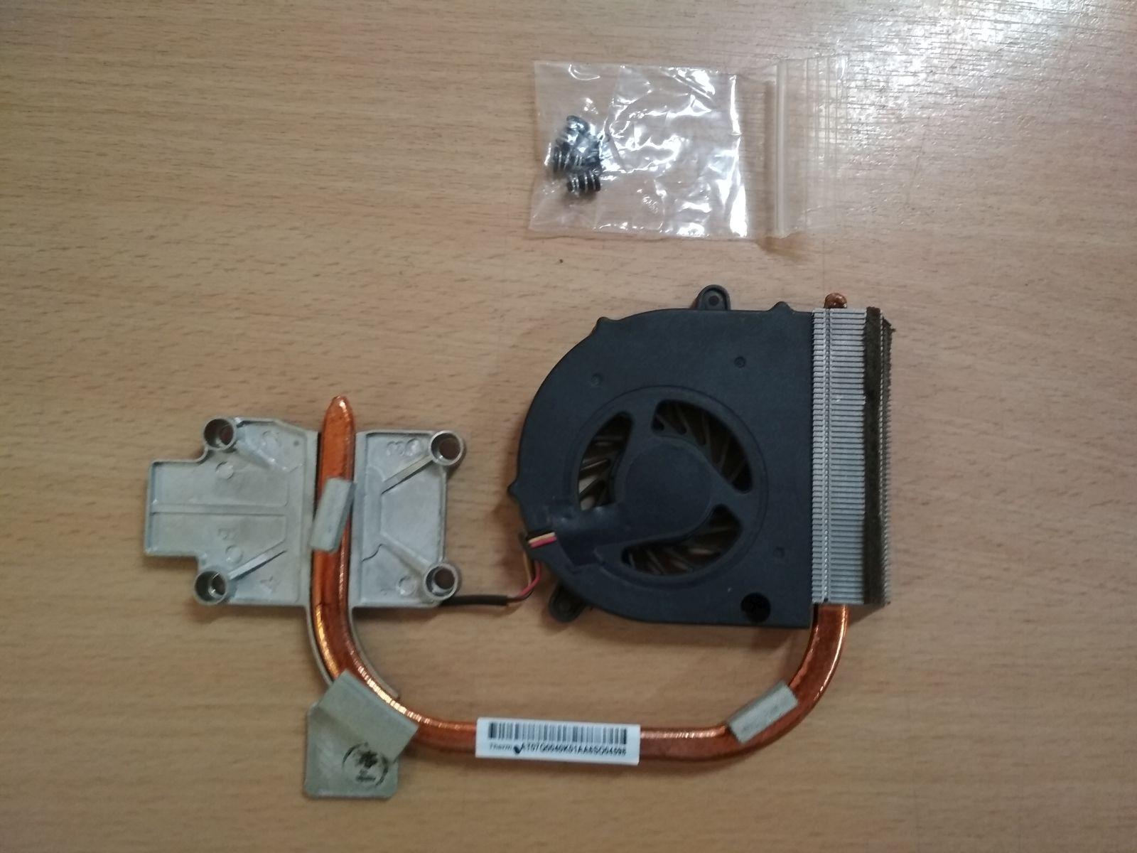 Lenovo Ideapad G550 B550 venti AB7005MX-ED3 és hőcső AT07Q0040K01 használt 1 hónap gar!