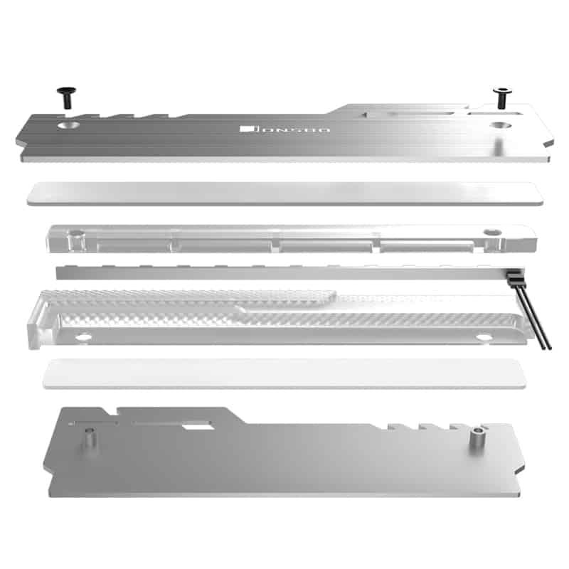 RAM Kiegészítõ Jonsbo NC-3 A-RGB Ezüst 2db-os
