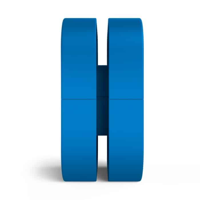 Fejhallagató tartó NZXT PUCK Mágneses Kék (BA-PCKRT-BL)